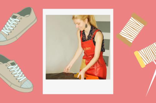 Jade Desbiens étudiante entrepreneure personnalisation de chaussures