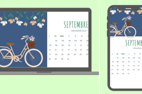 calendrier septembre 2020 à imprimer et fonds d'écran