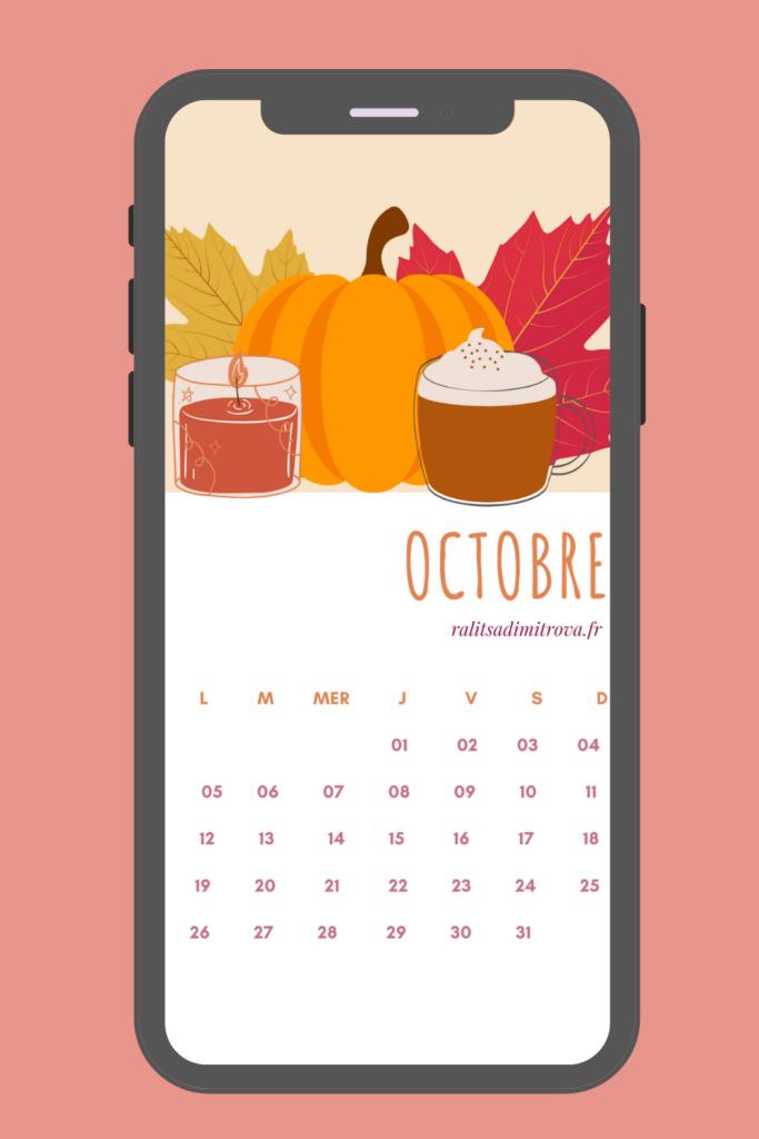 Fond d'écran téléphone octobre 2020