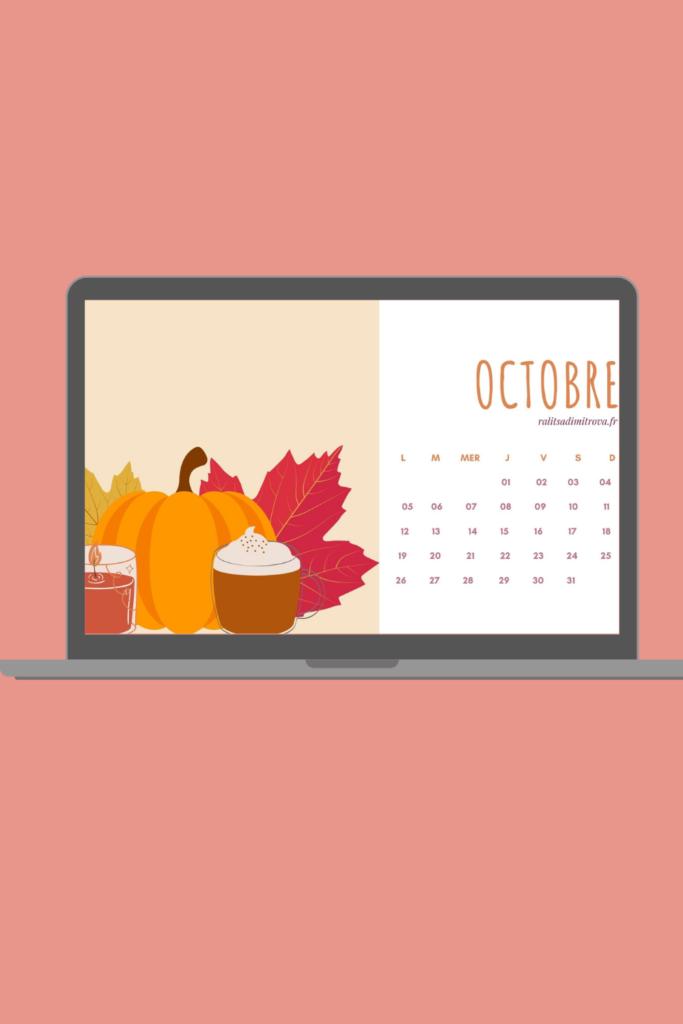Fond d'écran ordinateur octobre 2020