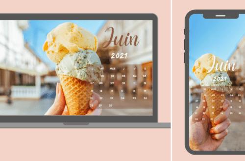 Fond d'écran et calendrier juin 2021